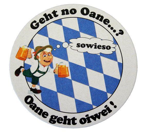 Bierdeckel bayerisch bedruckt und individuell gestaltbar kaufen