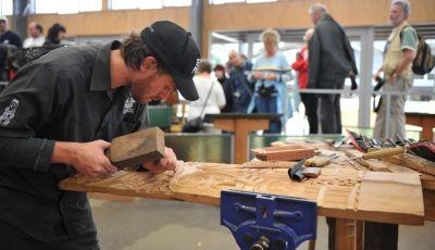 Traditional Maori carving demonstrations, Te Puia