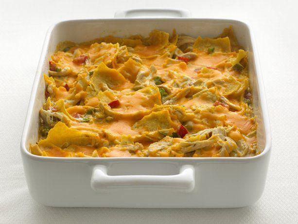 Healthified Chicken Tortilla CasseroleDinner, Tasty Recipe, Fun Recipe, Healthified Chickentortilla, Chicken Tortillas Casseroles, Food, Chickentortilla Casseroles, Eating, Cooking