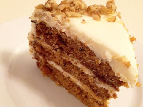 Heavenly Carrot Cake by Baked. This cake will not disappoint. It's got soul and I recommend you revisit some of Patti's greatest hits while serving!