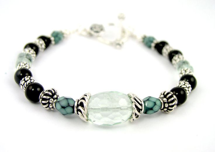 handmade beaded jewelry | Beaded Bracelets: Handmade Gemstone Silver Gold Copper Custom Wire ...