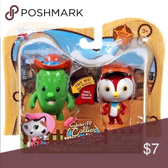 Disney Junior Sheriff Callie's Wild West New in package Disney Junior Sheriff Callie's Wild West Toby & Deputy Peck.  Recommended for 3 +. Disney Other