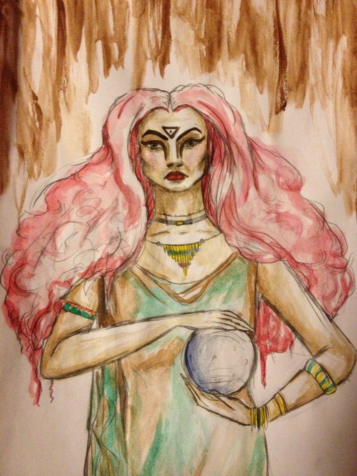 Witch of wisdom Helene w