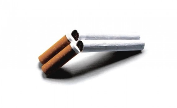 The cigarette look like a gun. This mean smoking kill. Smoking like suicide as both of them are damage to the body.