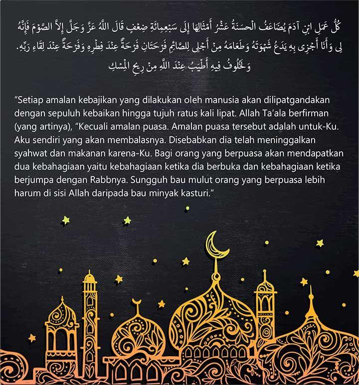 Mari Kita Sambut Kedatangan Bulan Suci Ramadhan Ini Dengan Rasa Syukur Kehadirat Allah Swt Dimana Kita Masih Diberi Kesempatan Dan Umur Panj Doa Allah Belajar