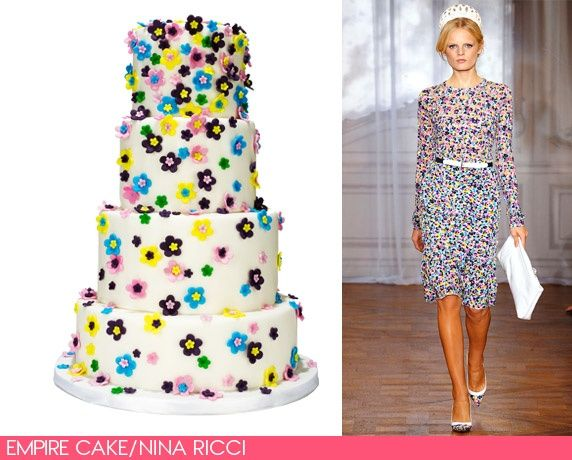 Fashion inspired cake (vogue)