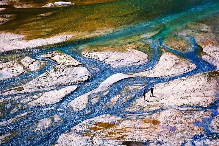 Abstract river by Simone Colferai / 500px