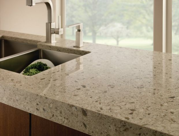 Quartz Countertops   Resist Heat, Scratches And Stains.