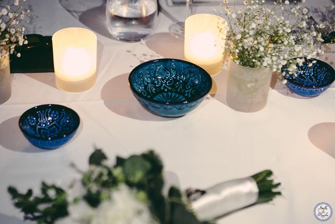 Bridal Table | Santorini Wedding by Stella and Moscha - Exclusive Greek Island Weddings | Photo by Nikos P. Gogas