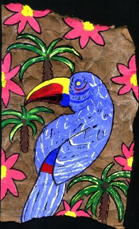Art Lesson Plan: Amate Painting- Art of Mexico
