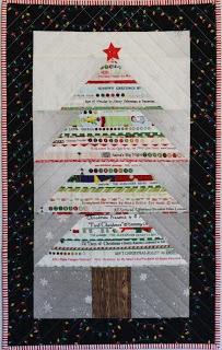Ellison Lane Quilts: Tutorial! Selvage Christmas Tree & Giveaway!