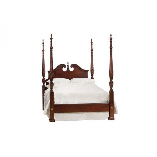 Kincaid 60 137p Carriage House Broken Pediment Rice Bed