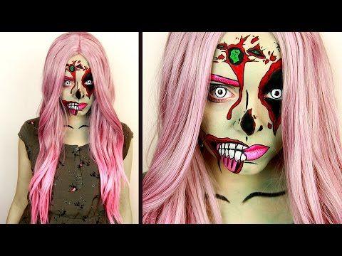 Pop Art Zombie : Mes 15 tutos vidéos préférés pour Halloween - La Folie des Fêtes