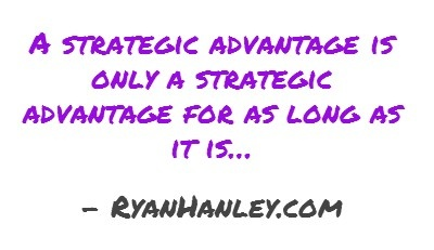 The Strategic Advantage...