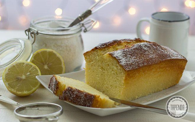 Ciasto jogurtowe o cytrynowym aromacie - przepis - Tapenda.pl