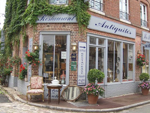 Normandy is Lyons La Forêt, brocante shopping and is on my bucket list