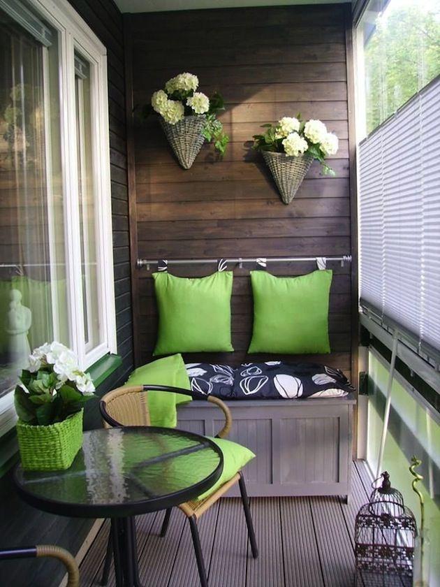 """Дизайн маленького балкона в блоге """"Твой Дизайнер"""""""