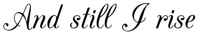 Script Fonts - Script Font Generator