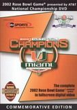 The 2002 Rose Bowl Game National Championship [Commemorative Edition] [DVD] [2002]