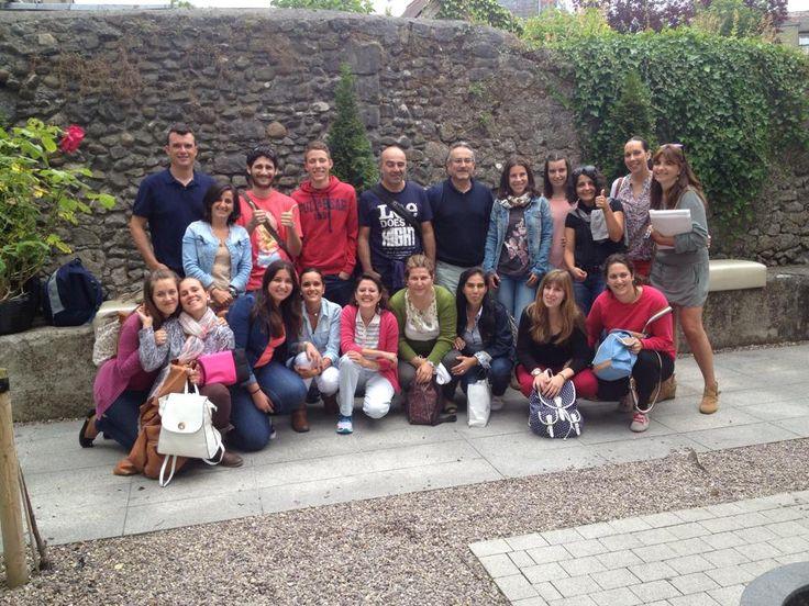 First morning of classes complete with Language Xchange Ireland #kilkenny #ireland