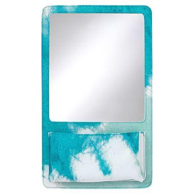Gear-Up Pool Tie-Dye Locker Mirror Pocket