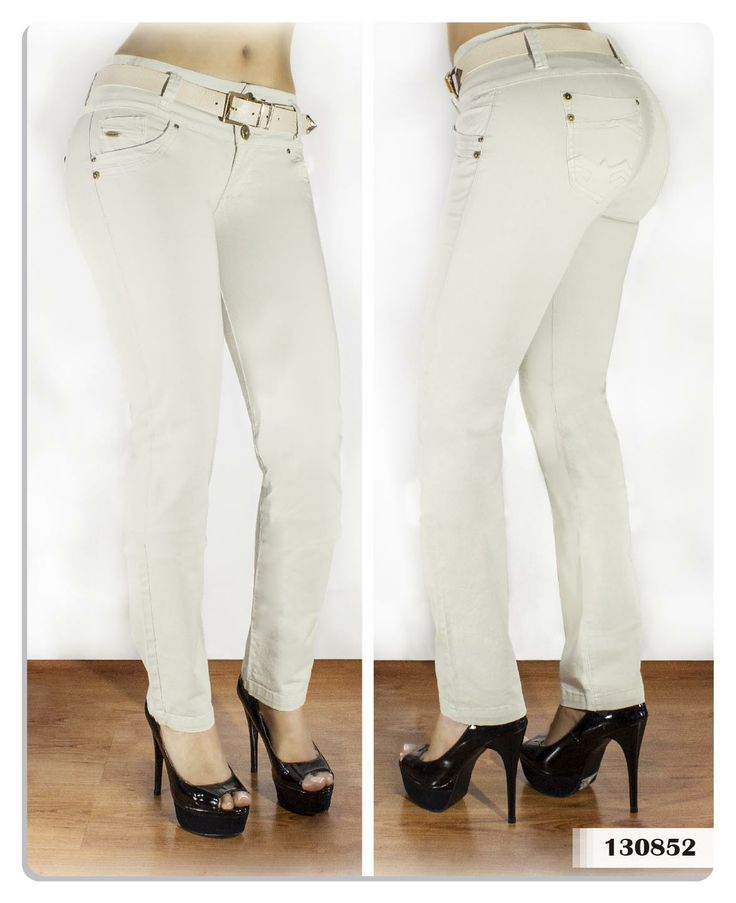 Pantalón mujer bota tubo color beige-Sexy, yet Casual #Fashion #sexy #woman #womens #fashion #neutral #casual #female #females #girl #girls #hot  #hotlooks #great #style #styles #hair #clothing  www.ushuaiajean.com.co