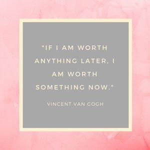 Vincent Van Gogh - Inspirational Quote