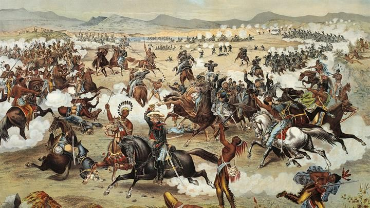 Indians defeat Custer at Little Big Horn - Jun 25, 1876 - HISTORY.com
