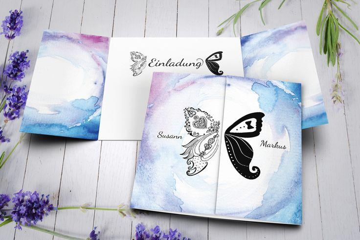 Hochzeit Einladung ~ wedding invitation