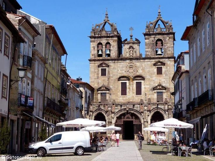 The cathedral of Braga is the oldest in the country and you can find it in the historic centre of the city.