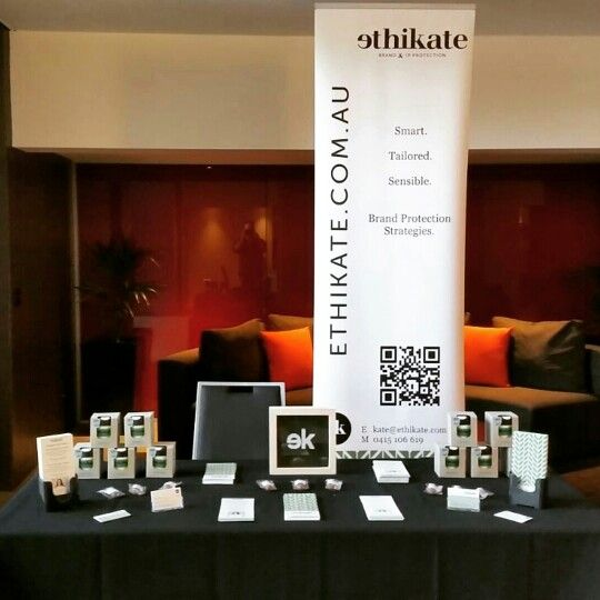 Our table at the not for profit conference in Melbourne - what a great day!
