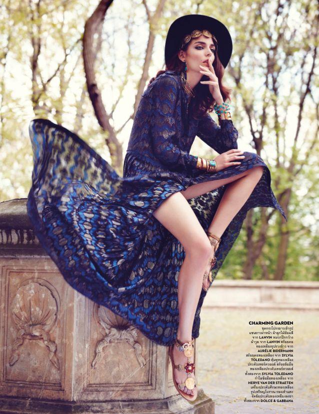 Vogue Thailand June 2014 | Zuzanna Bijoch by Marcin Tyszka [Editorial]