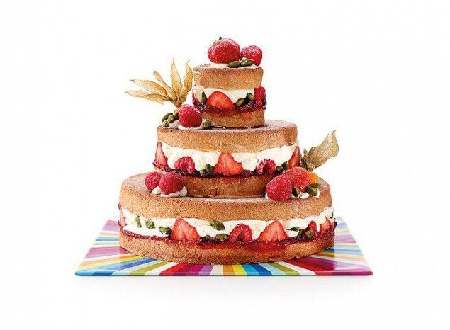 Naked Cake 3 étages