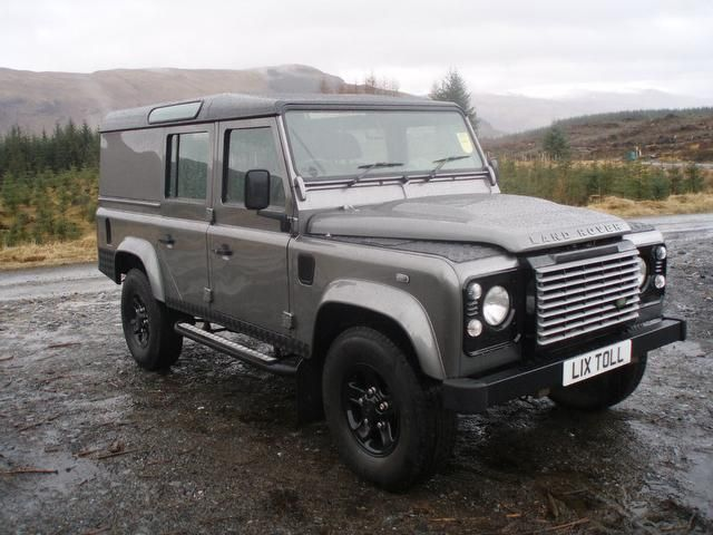 Used land rover defender 4x4 in killin perthshire lix for Garage land rover brest