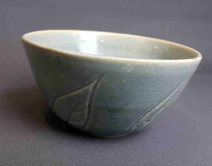 Molly Tinsley Fremantle Potter Leaf Bowl  Stoneware 12cm Dia x 6cm H approx