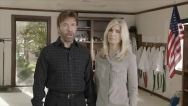 Bad news everyone!   Americans are THISCLOSE to causing the destruction of the entire planet... according to Chuck Norris and his wife!   The strongest man in...