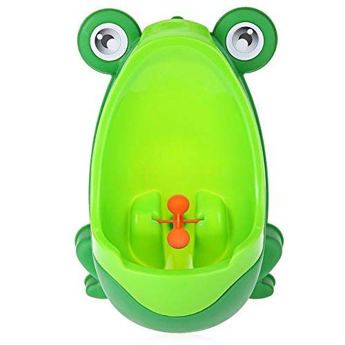 Toddler Portable Toilet Frog Potty Urinal Stand Up Pee Training-Green NEW