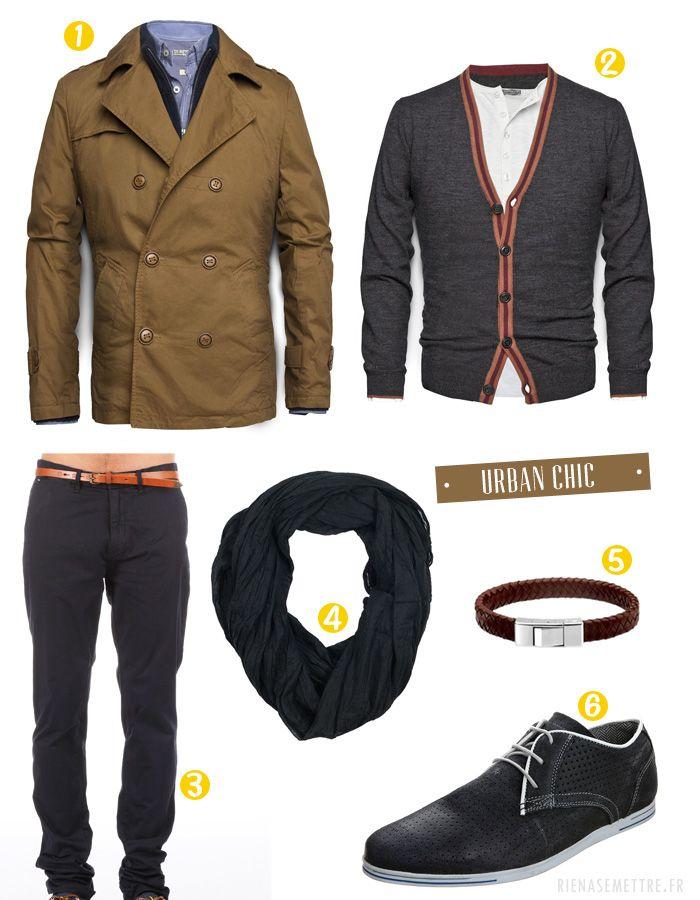 LOOK | La mode du Chic Urbain pour Homme | urban style chic brown | Blog mode homme  | Guide Shopping mode et tendances femme homme enfant ...