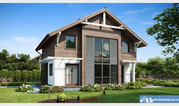 Proiecte de case cu mansarda. Locuinte moderne si accesibile - Case practice