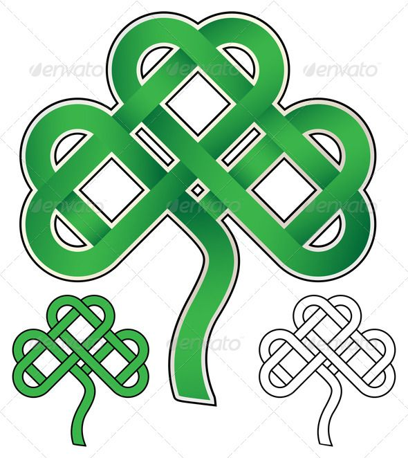 celtic knots and their meaning | celtic knot 7048335 stock vector decorative decorative symbols celtic ...