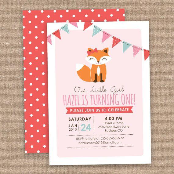 best 25+ girl birthday invitations ideas on pinterest | girl first, Birthday invitations