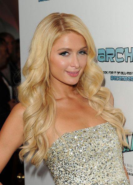 Paris Hilton Long Curls Paris Hilton Hair Paris Hilton