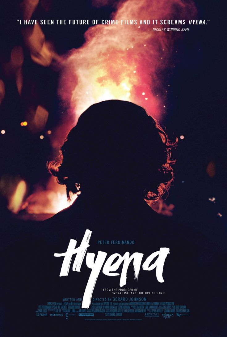 Poster design top 10 - Hyena Movie Poster Of