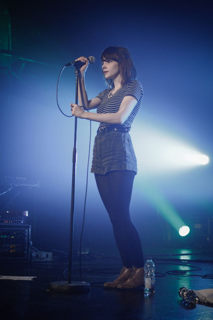Lauren Mayberry from the Scottish band Chvrches from the Montreal show at Le National