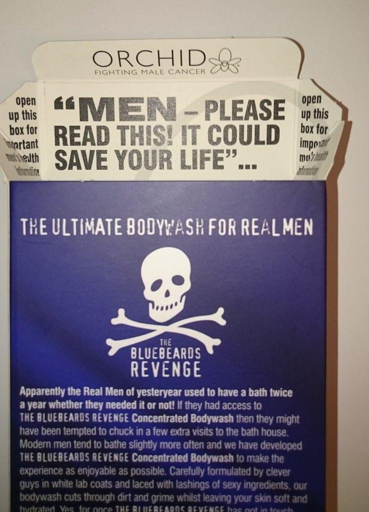 En duschcreme för riktiga män-män | Testpiloterna  Recension av The Bluebeards Revenge Concentrated Bodywash.