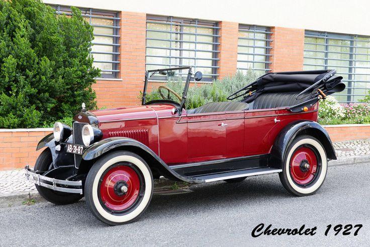 Chevrolet 1927, modelo Capitol.