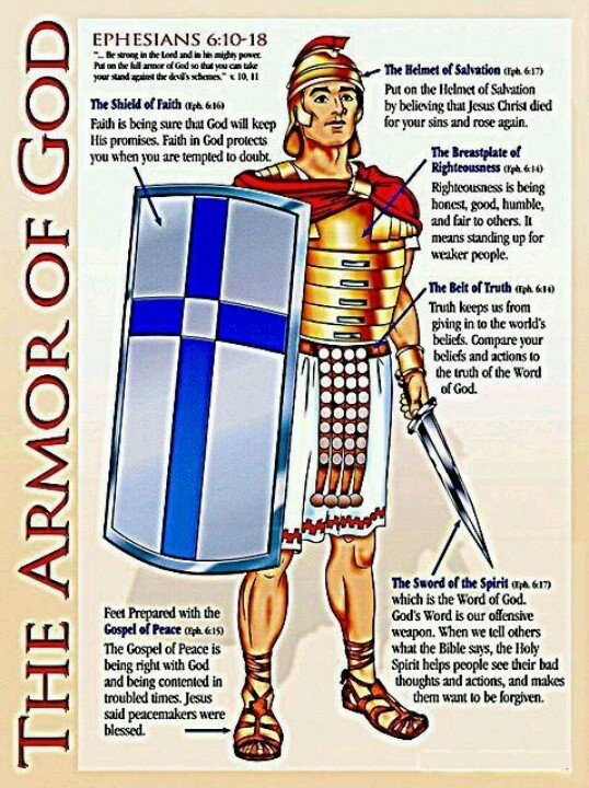 1000+ images about Armor of God on Pinterest | Armors ...