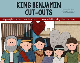 King Benjamin Cut-outs