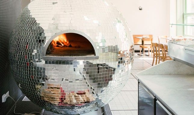Made Us Look The Completely Unbelievable Disco Ball Pizza