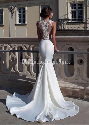 13+ Inspiring Wedding Dresses Vintage Backless Ideas